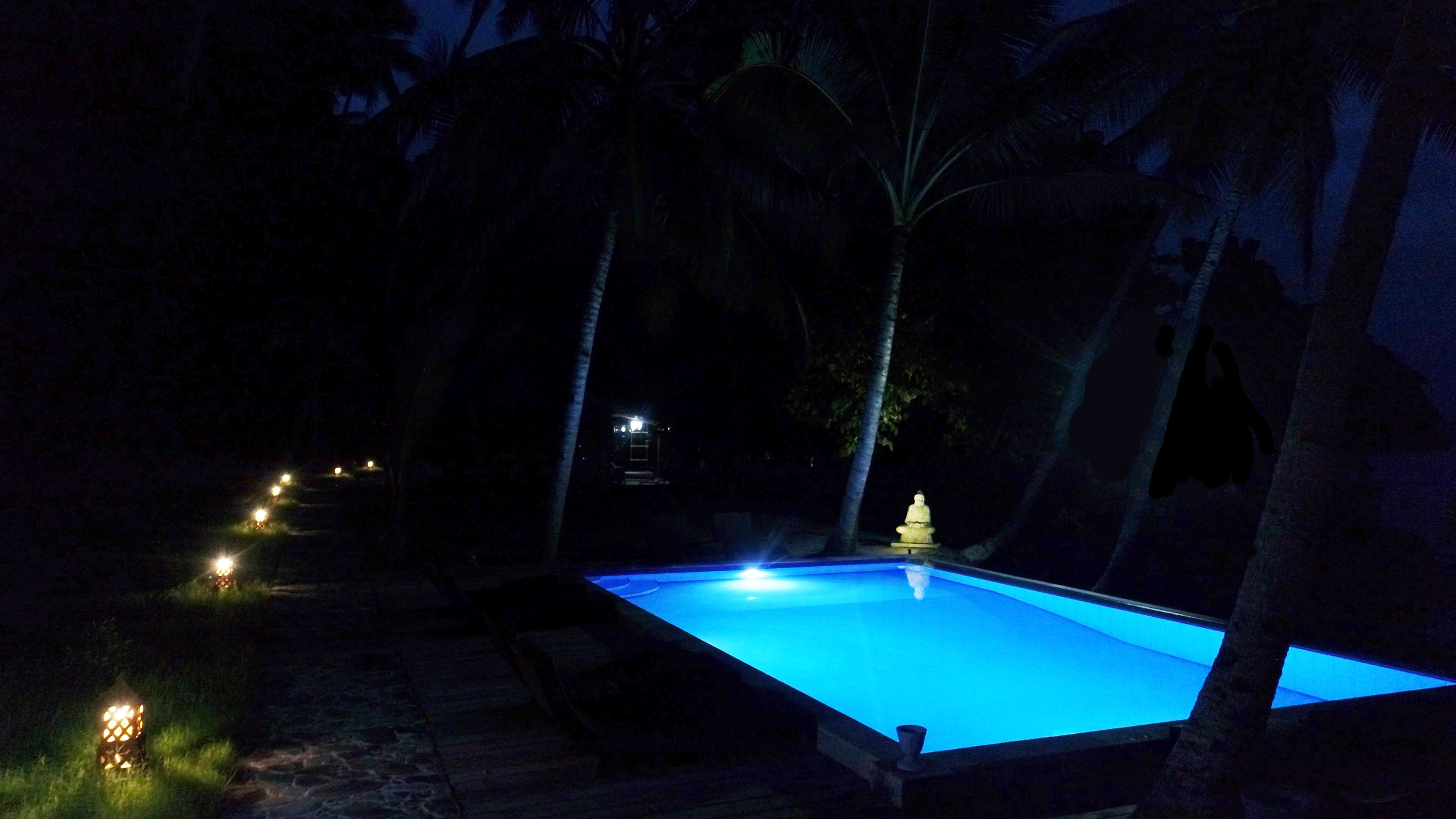 Pool Nigh View - Sali Bay Resort, South Halmahera, North Maluku