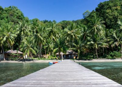 Sali Bay Resort Jetty, South Halmahera, North maluku