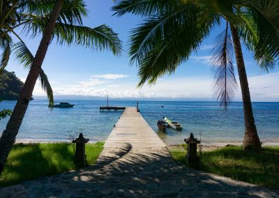 Sali Bay Resort Jetty, South Halmahera