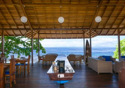 Restaurant - Sali Bay Resort, South Halmahera, North Maluku